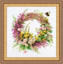 Riolis 1456 - Wreath with Fireweed