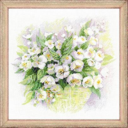 Riolis 1467 - Watercolor Jasmine