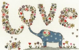 Elly le joli petit éléphant de la série Love par Kim Anderson