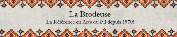 logo de la boutique La Brodeuse, boutique de broderie