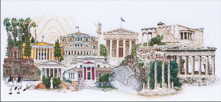 Athènes. Kit Aïda blanche par Thea Gouverneur, code 545A.